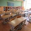 明日は登校日 教室の様子 1・2年、やまびこ学級