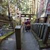 犬と一緒に行く晩秋の世界遺産吉野山金剛峯寺と大和本舗等の旅(後半)
