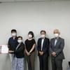 17日、中合福島店閉店に関し、雇用テナント対策で福島市に申し入れ