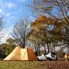 紅葉が見頃の蒜山へ@蒜山高原キャンプ場