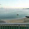 沖縄旅行 青い海白い砂浜 1日目