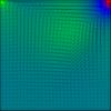 【差分法】MAC法で風上差分を用いてNavier-Stokes方程式を解きました C++コード付き