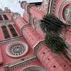 激カワ! ピンクのタンディン教会