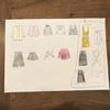 【小2娘の秋冬服選びに苦戦中】一緒に買い物計画表を作ってみました