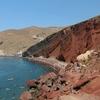 サントリーニ島のレッドビーチ