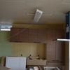 キッチン背面収納が設置されてます。が。。
