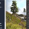 Snow and Moss Rock Shader 24個のゴツゴツした大きな岩3Dモデルと、回転した時に「雪」「コケ」が上に付着するシェーダー