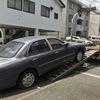 三島市から車検が切れた不動車をレッカー車で廃車の出張引き取りしました。