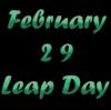 閏年 4年に1度の日と今月のブログについて