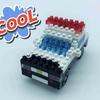 100均の気になるおもちゃ ダイソーのプチブロック パトカーを作る