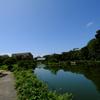東京の空 清澄庭園