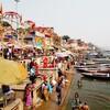 【インド6】ガンジス川と小径を探検