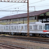 長野電鉄3000系M1編成須坂駅構内小移動