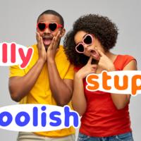 silly・foolish・stupidの違いとは?「バカ」の英語表現