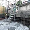 桃園橋は2021年6月に欄干など撤去。橋の本体部分は10月ごろ撤去開始。昭和初期の鋼鉄桁を含め全て撤去する(東京都下水道局情報公開)。一部保存を調整中(2021年5-6月)