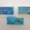 【0円工作】部屋に水族館を作る。ティッシュの空き箱や透明な折り紙があればOK。こどもの作品展にもなります