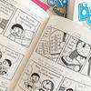 《英語育児》次男 (小2) は『ドラえもん』を音読中です
