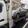 狭山市から他人名義の車検切れ故障車をレッカー車で廃車の引き取りしました。