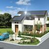 全国初!停電時、ハイブリット車や電気自動車から電気の供給ができるモデルハウスが完成!