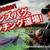 【バス釣り動画】パンチ上田プロが琵琶湖でダイワ新製品「フィンズバグ」でパンチングを解説!