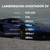 アヴェンタドールSV対タイカンターボS
