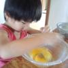 「とうちゃん、黄色いのとオレンジのがあるんやでー!見る?」