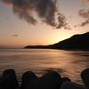 RX100M6で撮る!淡路島土生港から見る夕陽夕焼けがキレイ