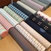片貝木綿と手織ウール入荷しました