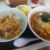 鶴瀬【やまむろラーメン】やき肉丼セット ¥864(税込)