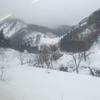 雪の米坂線