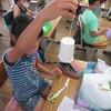 3年生:図工 ゴムでスルスル完成へ