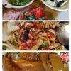 昨日の晩御飯と今日の弁当。