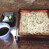 山形村の唐沢そば集落「山法師」で美味い蕎麦を食す。