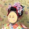【七五三】日本髪風ヘアメイクの髪飾り