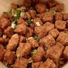 カップヌードルの謎肉の正体が公表されましたね!   驚きの正体は、大豆とぶた肉だった!