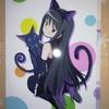 当選品9 10月27日にコロプラ様から、魔法使いと黒猫のウィズ×魔法少女まどかマギカのコラボグッズ(暁美ほむらセット)