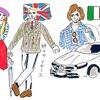 ヨーロッパ各国の男女魅力度研究
