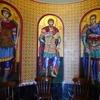 【トロードス地方旅行記】2:教会めぐり続き。緑深いトロードス山と初代キプロス大統領の記念碑