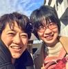 横田明子先生と対面