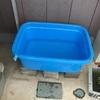 屋外水槽更新