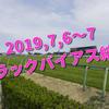 2019,7,6~7 トラックバイアス結果 (福島競馬場、中京競馬場、函館競馬場)
