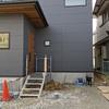 名古屋市緑区シンプルな北欧モダン外構着工