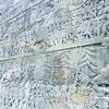 アンコールワット個人ツアー(200)アンコール・トムでバイヨン寺院のレリーフ