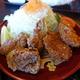 登利平「から揚げ定食」