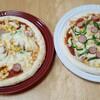 業務スーパーで購入した材料で、子供が作るピザランチ