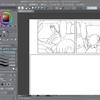 イラスト練習 漫画模写