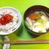 一汁一菜という考え方。【レシピ】トマトやきゅうり、ベーコンの味噌汁