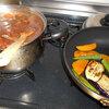 夏野菜カレーを作る