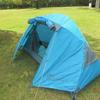 一人旅用のテント ソロ ドーム 1 (BDK-08)は軽く簡単に作れた!