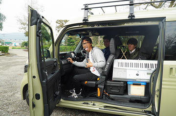 N-VAN車内でバンド演奏!?「THE N-VANド」結成秘話